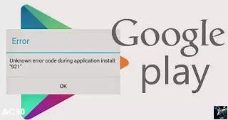 Penyebab Google Play Store Error Dan Cara Mengatasinya