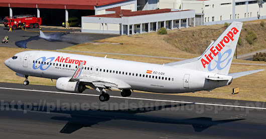 Air Europa: Estreia do B738