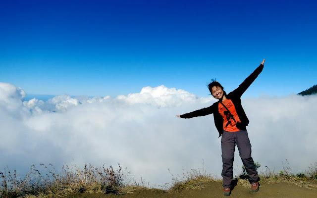 Plawangan Sembalun 2639 meter Gunung Rinjani