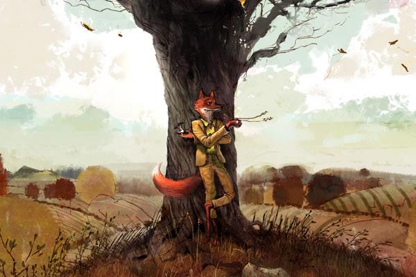 Codepen Fantastic Mr Fox