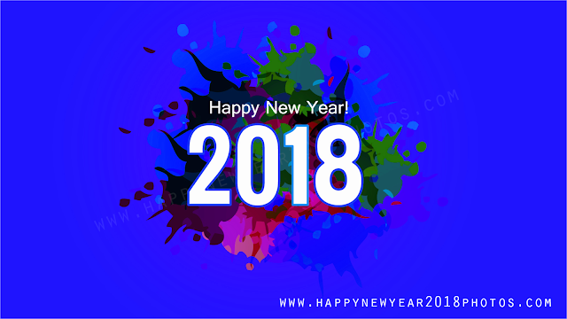 2018 happy new year funny 3d animated images greetings wishes
