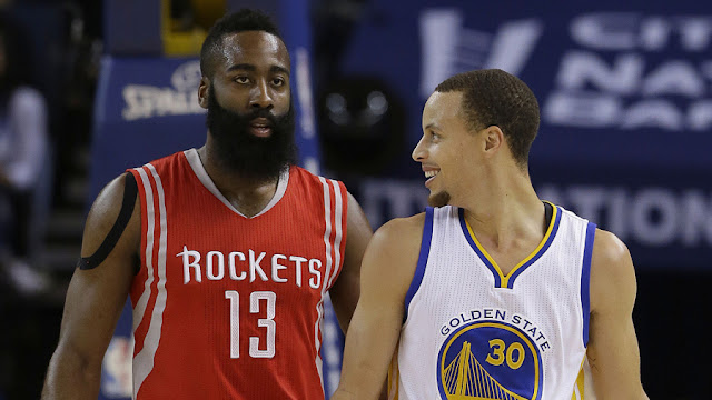 Harden pica a Curry: la otra batalla adidas-Under Armour