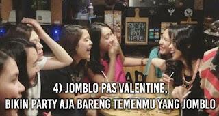 Jomblo Pas Valentine, Bikin Party Aja Bareng Temenmu Yang Jomblo