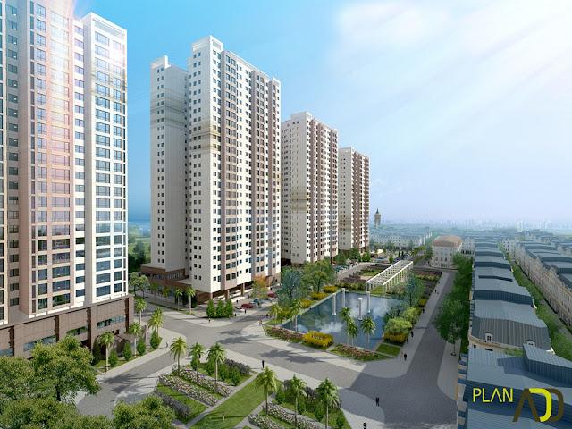 Phối cảnh dự án Lacasta Tower Văn Phú, Hà Đông