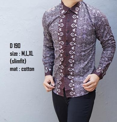 15+ Contoh Model Baju Batik Pria Modern 2020 Desain Terbaik