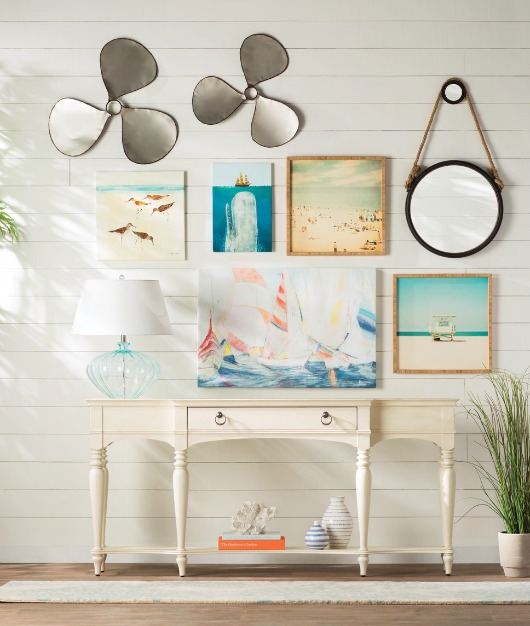 Wayfair Foyer Mirror : Coastal entryway designs from wayfair decor
