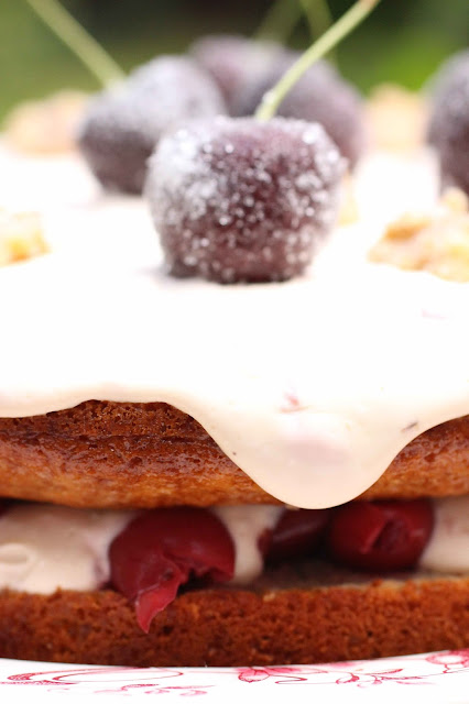 griottes au sirop cake