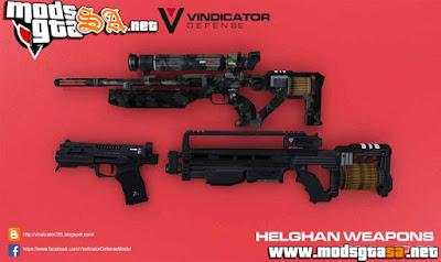 Pack de Armas Helghan