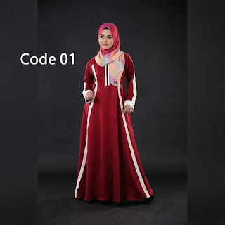 JAUHARAH SILKY ABAYA - SOLD OUT