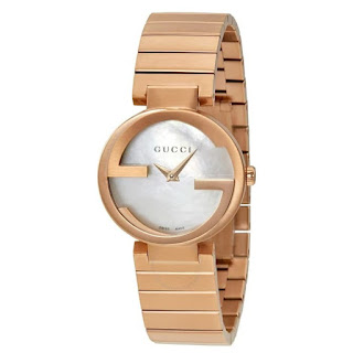GUCCI Interlocking Mother Of Pearl Dial Ladies YA133515