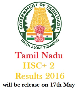 TN HSC Results 2016