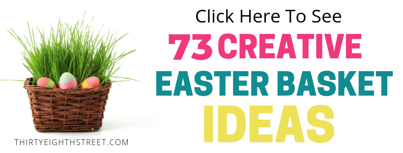 easter basket ideas, easter gifts, easter baskets, easter baskets for kids, teenage easter baskets, toddler easter baskets, Easter egg ideas, no candy easter baskets