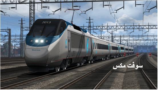 تحميل لعبة قيادة القطار الحقيقي السريع للكمبيوتر والاندرويد download train simulator free
