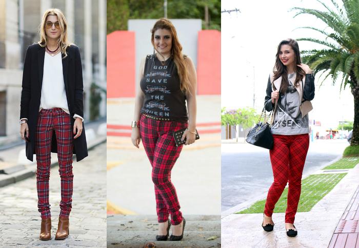 Looks de São João, calça xadrez, looks de são joão com calça xadrez