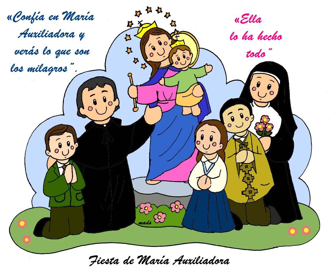 Mis Ilustraciones Frases De Don Bosco A María Auxiliadora