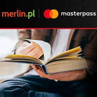merlin.pl voucher 25 zł na kolejne zakupy dla płacących portfelem MasterPass