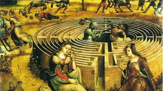 storia di creta, il labirinto e il minotauro