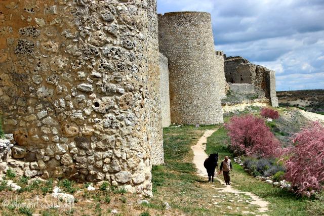 foto de la muralla y castillo