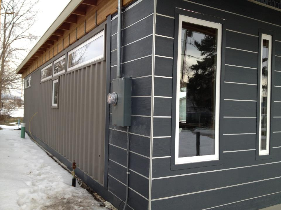 Shipping Container Homes: 2x 40ft Shipping Container Home