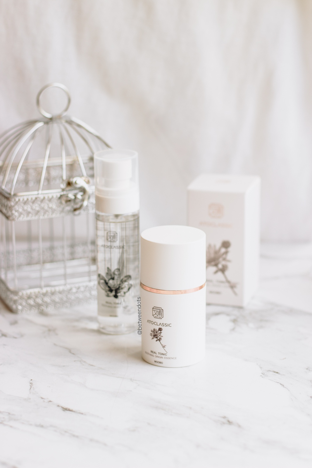 Hanbang skincare for sensitive skin with Atoclassic and