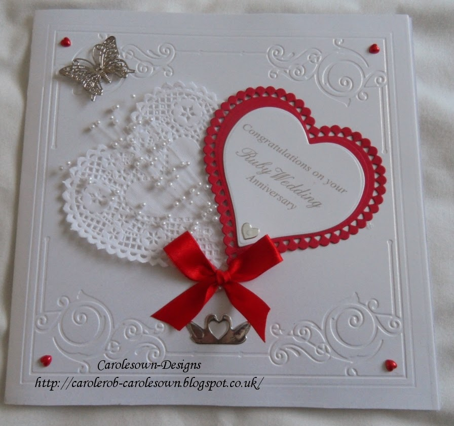 Ruby Wedding Gift Ideas For Husband: Carole's Own: March 2014