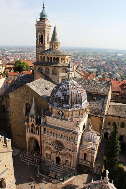 Basílica Santa Maria Maggiore y la Cappella Colleoni (Bergamo)