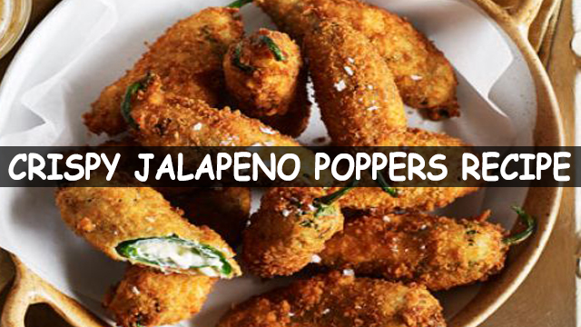How To Make Jalapeno Poppers Recipe | Crispy Jalapeno Poppers Recipe | Mexican Recipe