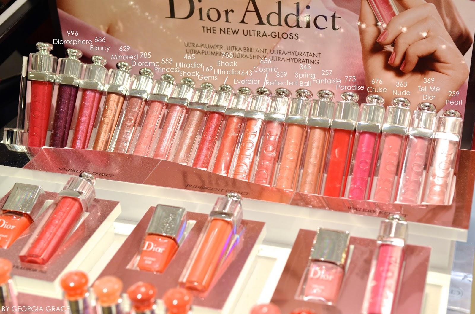 5326bd7a NEW! Dior Addict Ultra Gloss: Nude, Tell Me Dior, Cruise ...