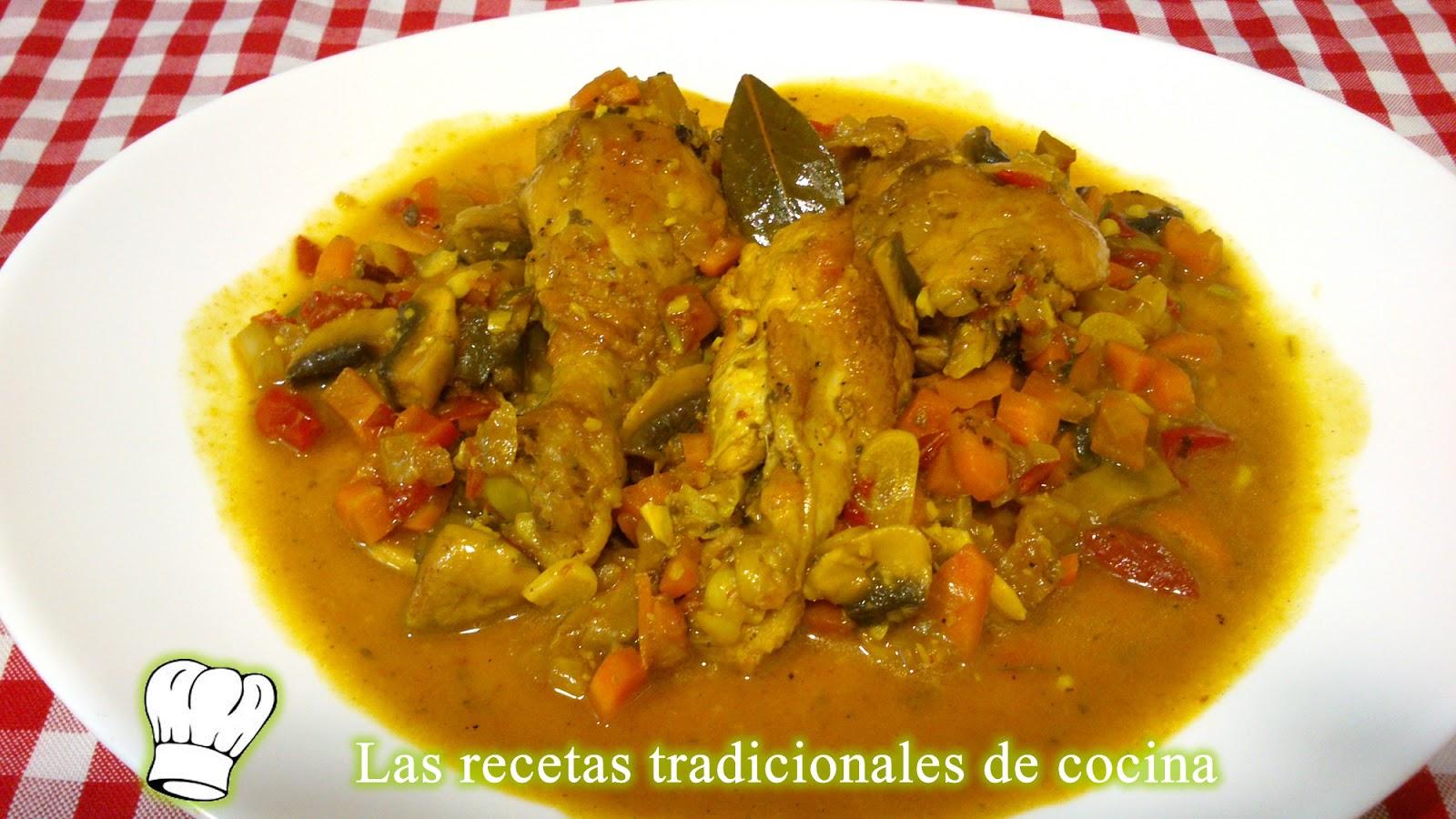 Receta de pollo a la jardinera recetas de cocina con sabor tradicional - Como se hace pollo en salsa ...