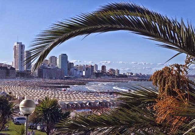 Paisaje de Mar del Plata