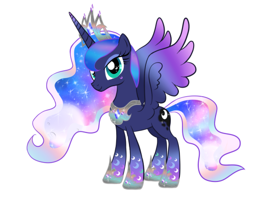 Princess Luna Rainbow Power
