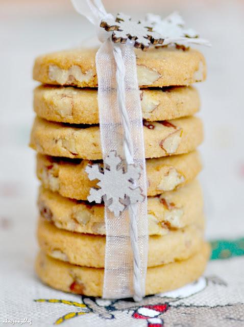 Ciasteczka z pekanami.