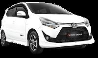 Toyota New Agya Medan putih