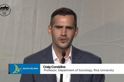 Prof. Dr. Craig Considine: Nabi Muhammad Manusia Pertama Dalam Sejarah Yang Menolak Rasisme