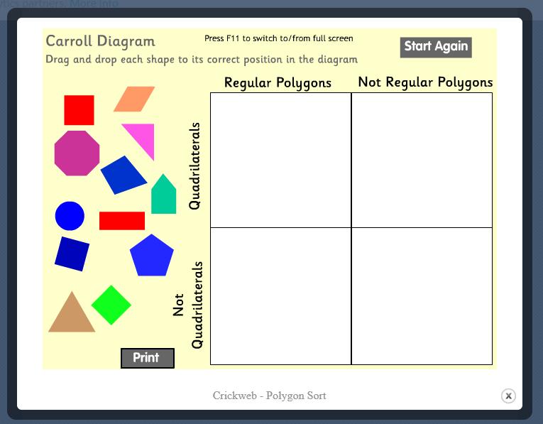 Mrs  T's First Grade Class: Geometry Games