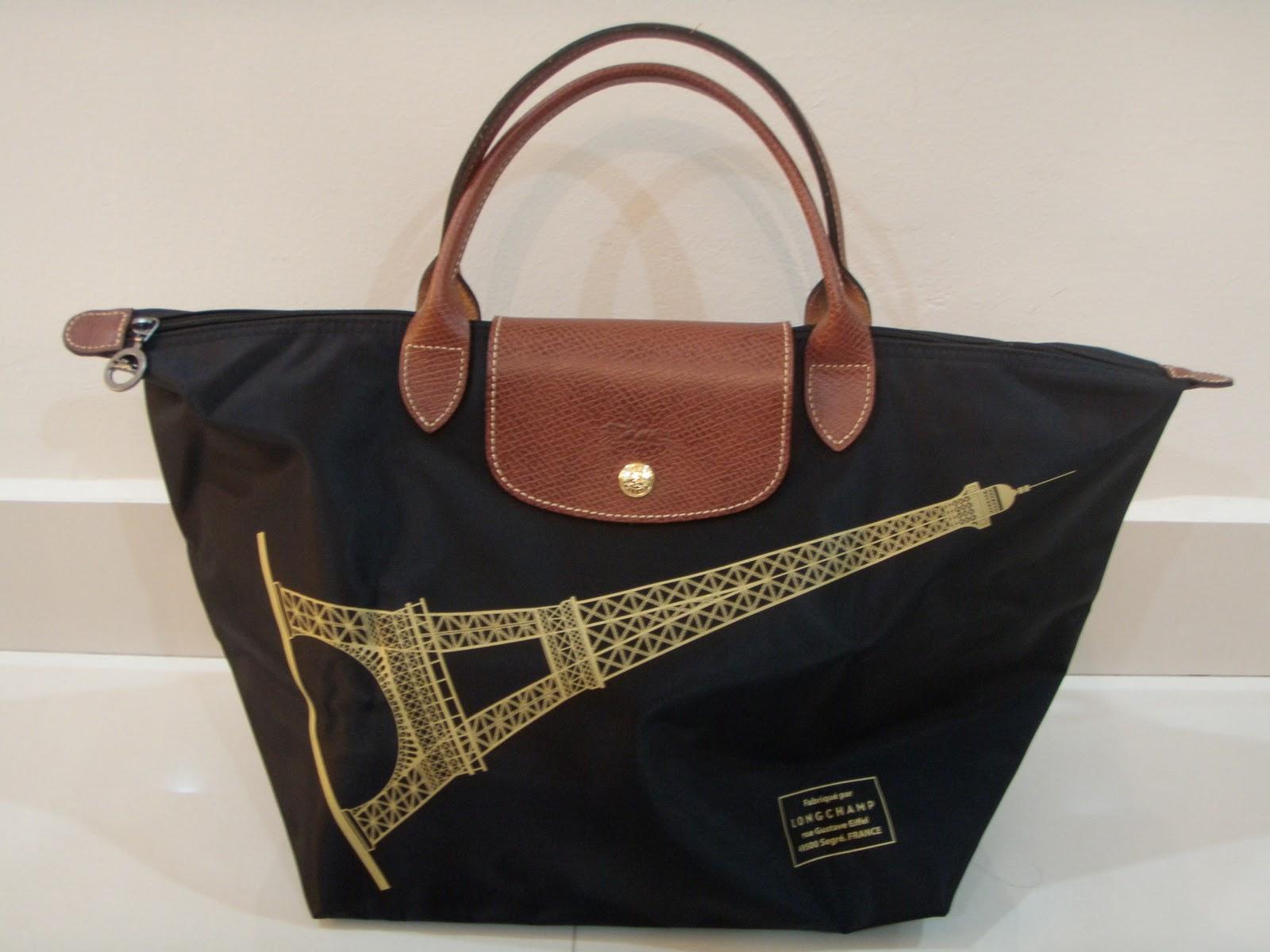 Longchamp Limited Edition Eiffel Short Handle Medium