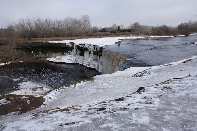 Jägala vesiputous, nähtävyys Virossa