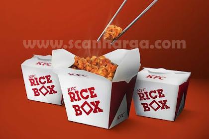 Harga Promo KFC RICE BOX Chicken Menu Terbaru