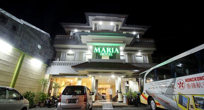 Dijual Hotel Maria Kuta Bali