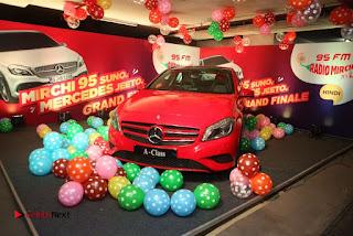Raashi Khanna at Mirchi 95 Suno Mercedes Jeeto Contest Stills  0055.jpg