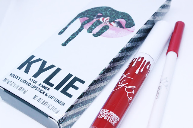 Kylie Jenner Cosmetics Red Velvet Liquid Velvet Lip Kit Review