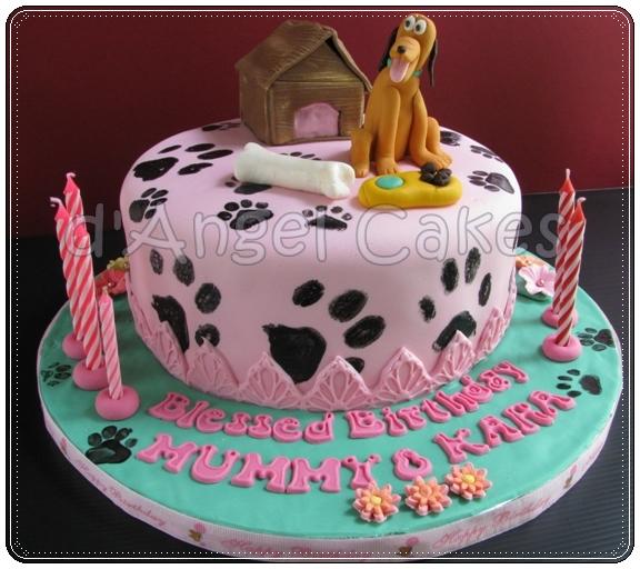 D Angel Cakes Pluto Cake