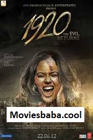 1920: Evil Returns (2012) Full Movie Hindi BRRip 480p