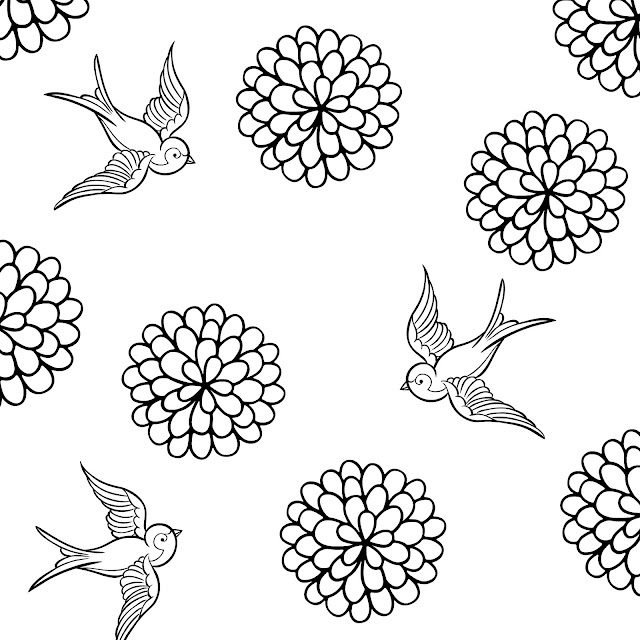 ~how to make a coloring page in PicMonkey~