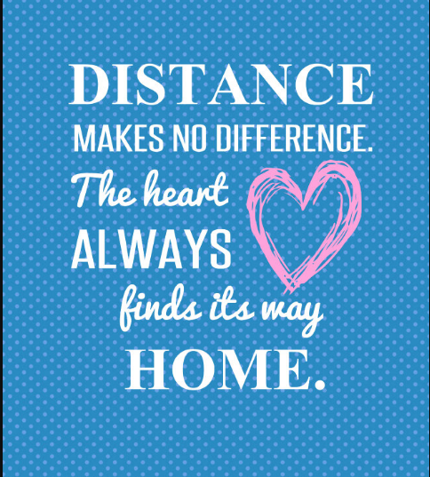 Long Distance Family Quotes