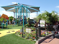 Play areas for kids at Epcot