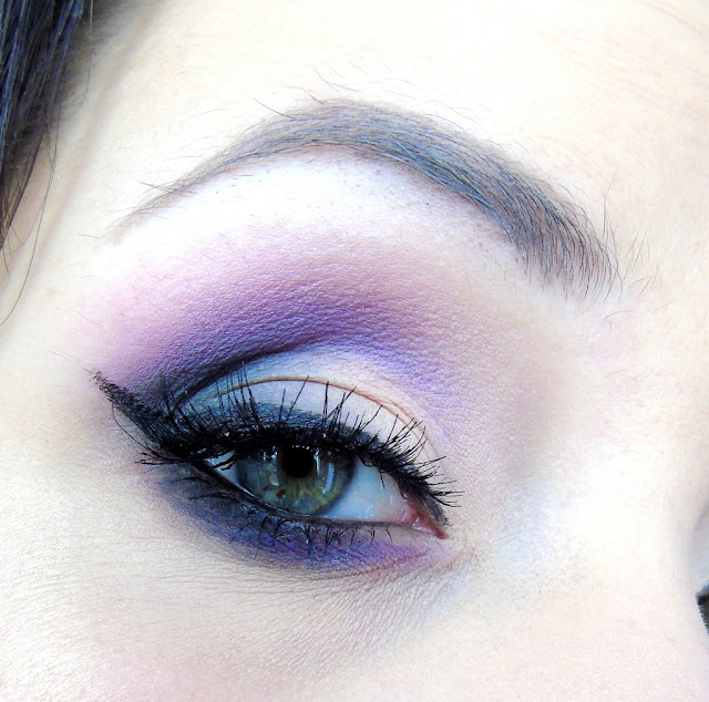 Makijaż wieczorowy z akcentem kolorystycznym :) Nowymi paletkami My Secret! :)
