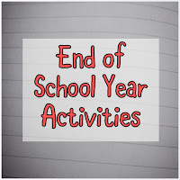 fun activities and games for primary school end of year