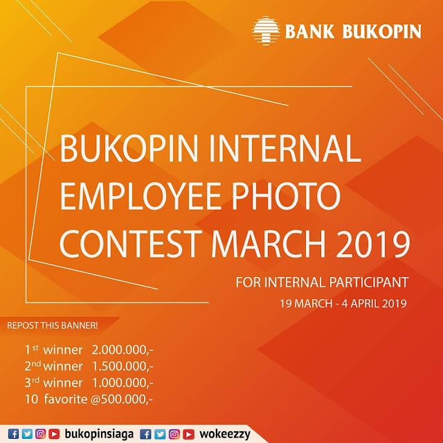 #BankBukopin - #Pomo Internal Bukopin Internal Employee Photo Contest March 2019
