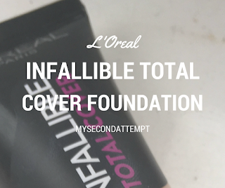 "Is It Really The Best Drugstore Foundation"" L'Oreal Infallible Total Cover Foundation"